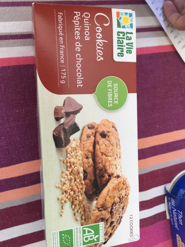 Cookies quinoa pépites de chocolat - 175g