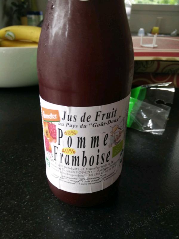 JUS POMME FRAMBOISE – 75cl