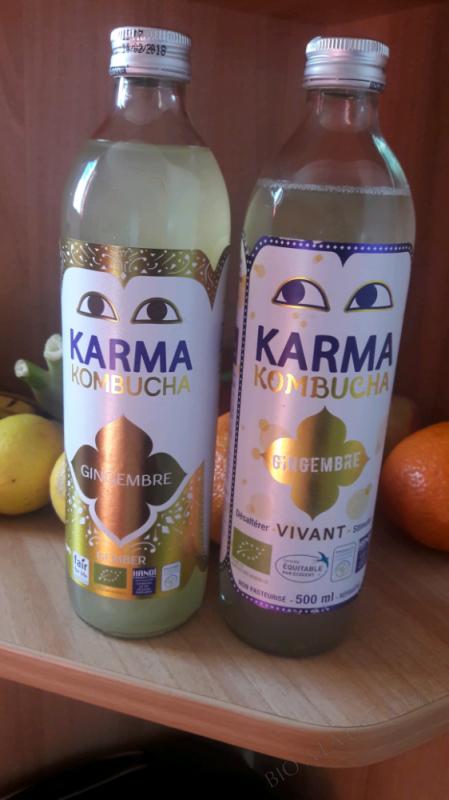 KOMBUCHA GINGEMBRE - 500ML
