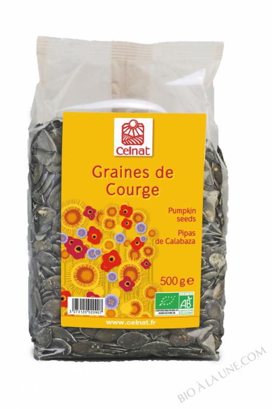 CELNAT Graines de Courge BIO - 500g