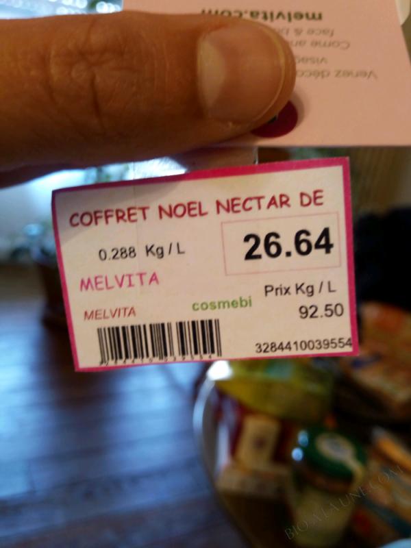COFFRET NOËL NECTAR DE ROSES