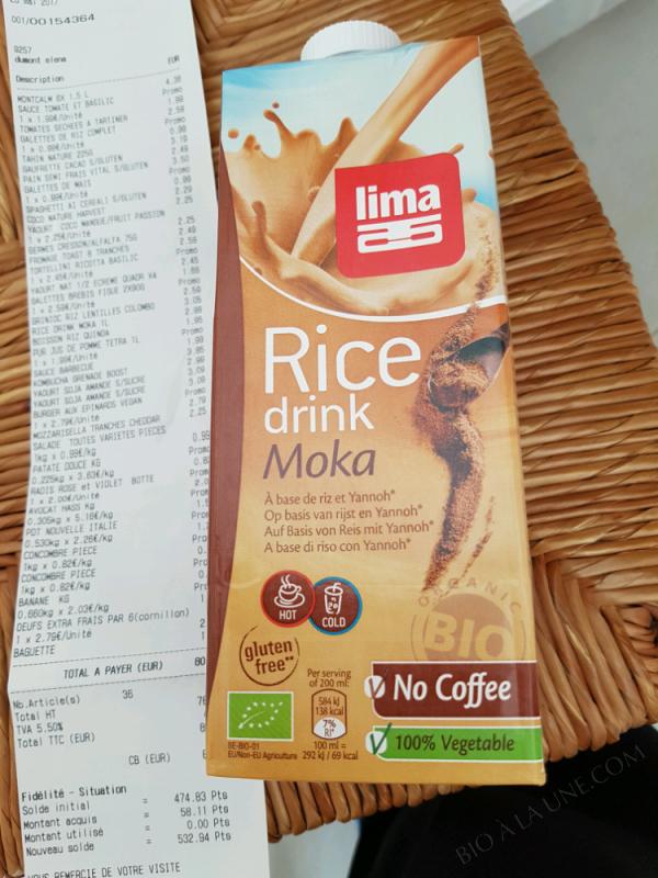 RICE DRINK MOKA - 250 ML