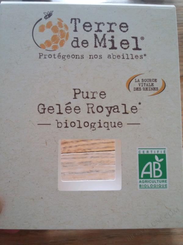 PURE GELÉE ROYALE BIOLOGIQUE – 18g