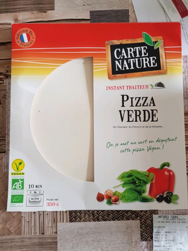 Pizza verde- 350g
