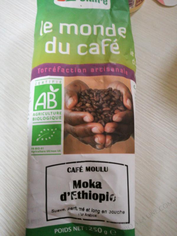 CAFÉ MOULU MOKA D'ÉTHIOPIE 250G