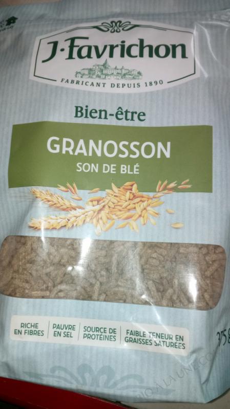 J.Favrichon Bien-être granosson Sachet refermable
