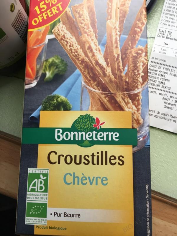 CROUSTILLES CHÈVRE - 100G