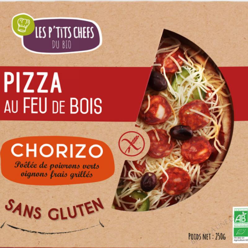 PIZZA CHORIZO AU FEU DE BOIS 250G