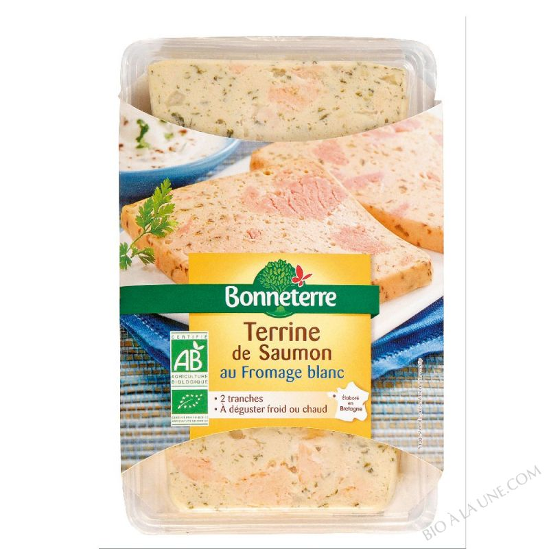 Terrine Saumon Au Fromage Blanc- 120G