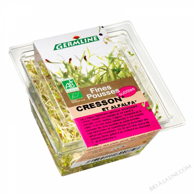 Alfalfa / Cresson germés 75g