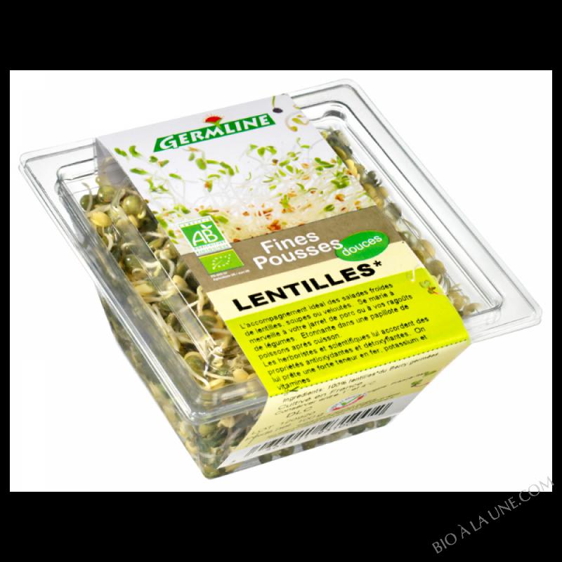 Lentille germée 100g