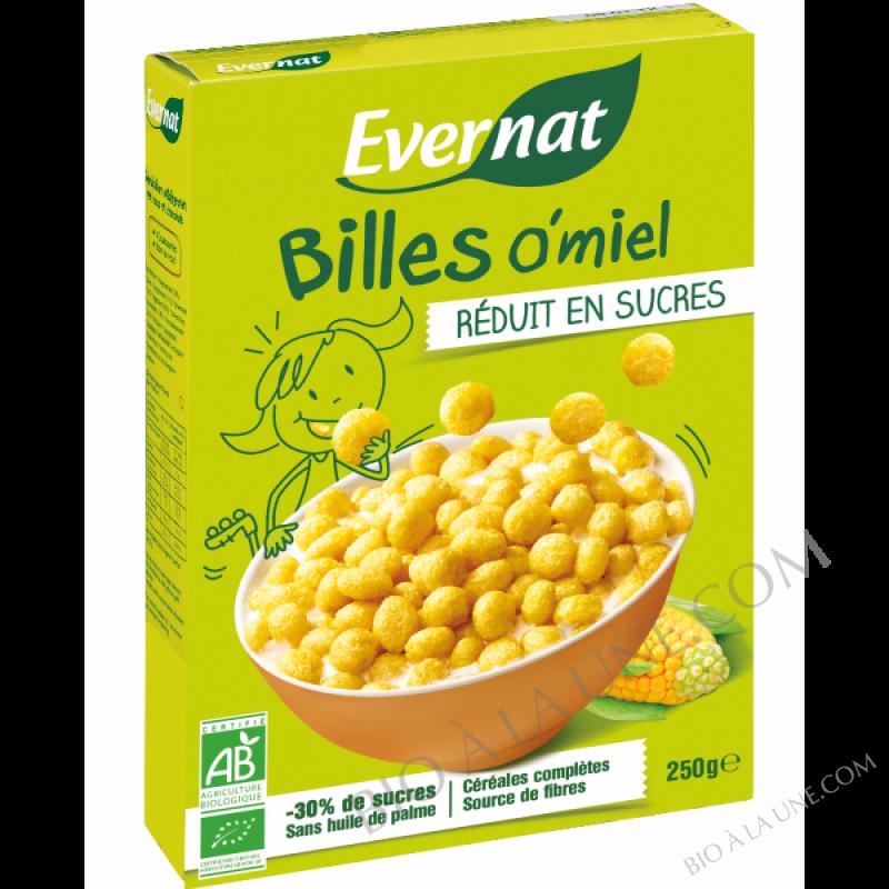 Billes O'miel réduites en sucre BIO - 250g