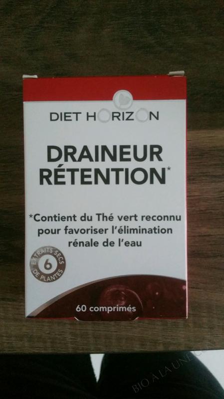 DRAINEUR RÉTENTION - 60 COMPRIMÉS