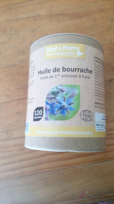 HUILE DE BOURRACHE - 120 CAPSULES