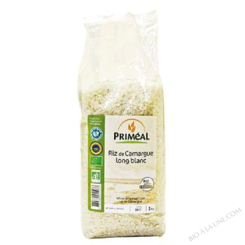 RIZ LONG BLANC INCOLLABLE - 500G