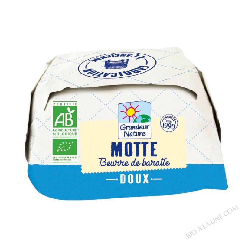 Beurre de baratte - Motte doux 250g