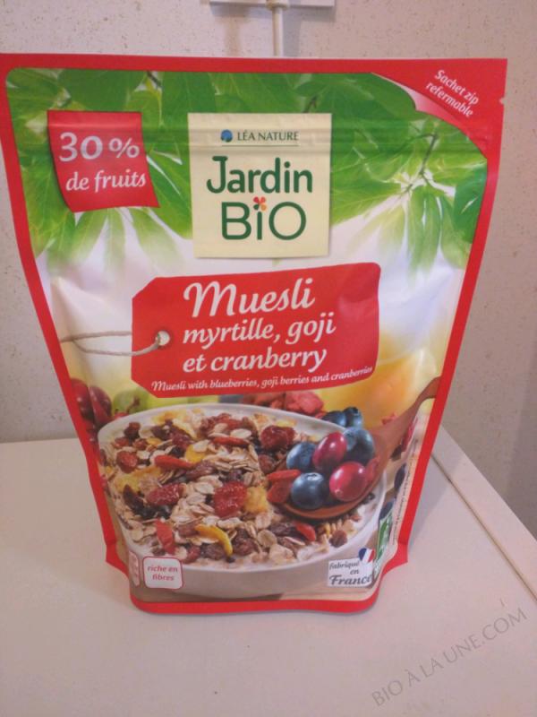 MUESLI SUPER FRUITS - 375G