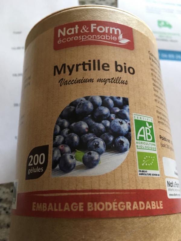 MYRTILLE BIO ECO-RESPONSABLE - 200 GÉLULES