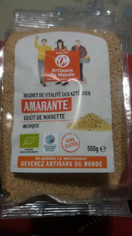 AMARANTE GRAINES - 500G