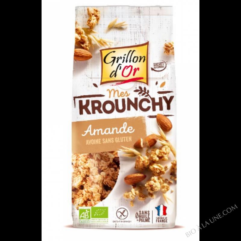 Krounchy amande avoine sans gluten