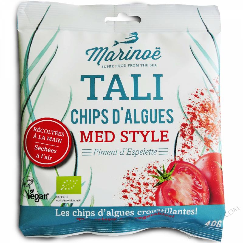 Tali - Chips d'algues Med Style - Marinoë