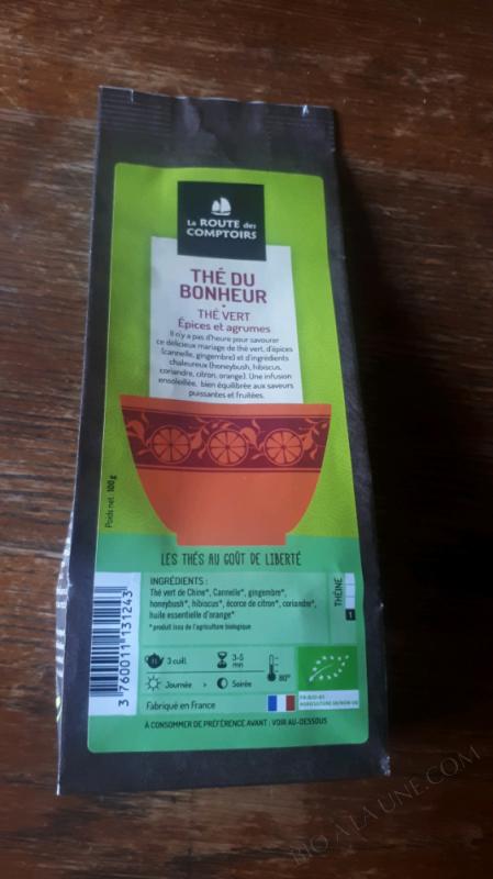 The vert du bonheur - 100 gr