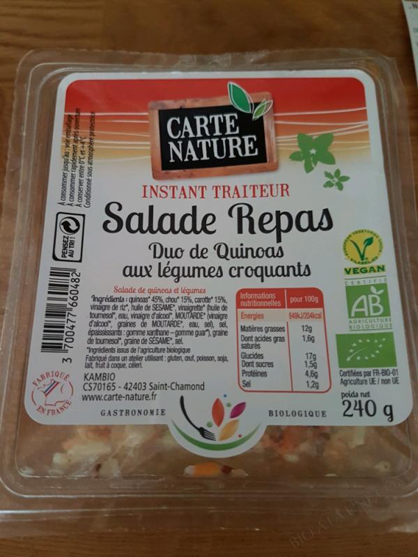 Duo de Quinoas aux légumes croquants - 240g