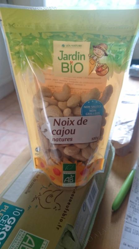 NOIX DE CAJOU NATURE -  100G