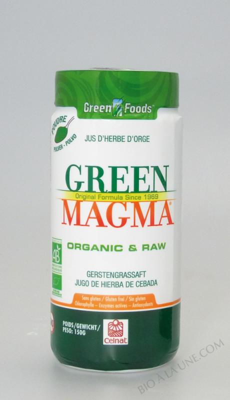 Green Magma® en Poudre 150g BIO