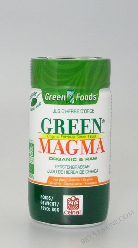 Green Magma® en Poudre 80g BIO