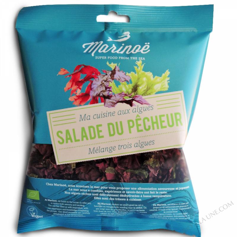 Salade du Pêcheur algues - Marinoë