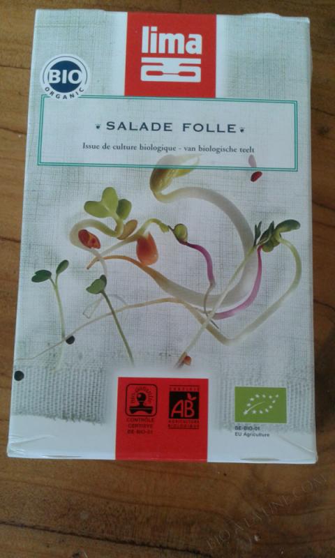 SALADE FOLLE - 100G
