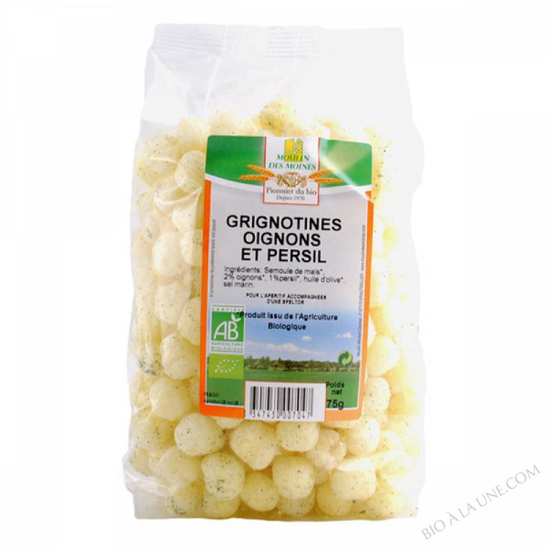 Grignotines Oignon Persil BIO 75g
