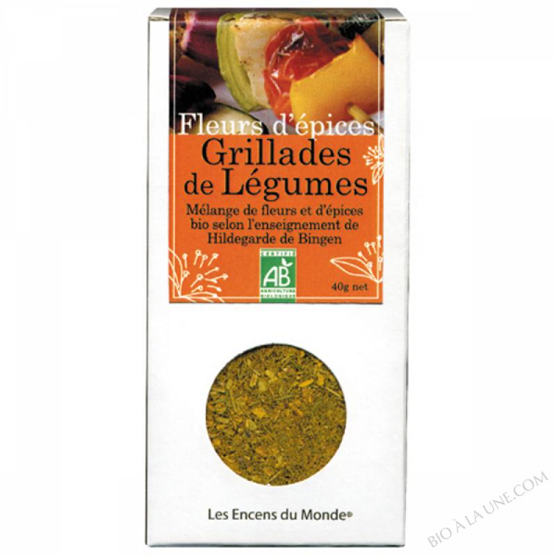 Fleurs d'Epices Grillades de Legumes Bio 20g