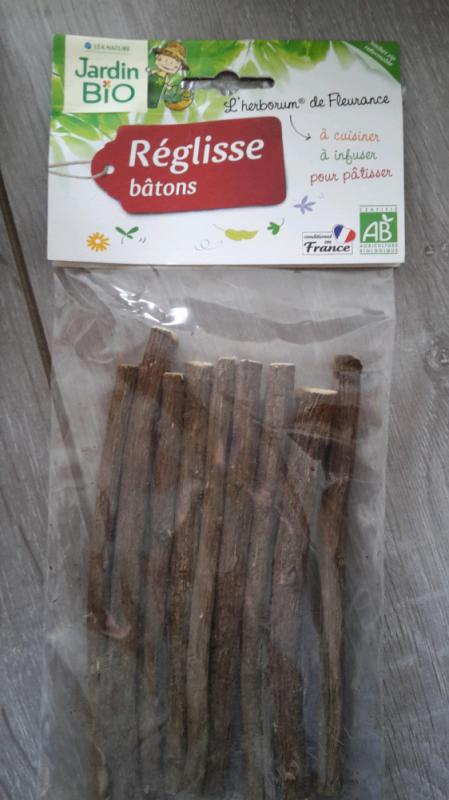 BÂTONS DE RÉGLISSE BIO - 50G