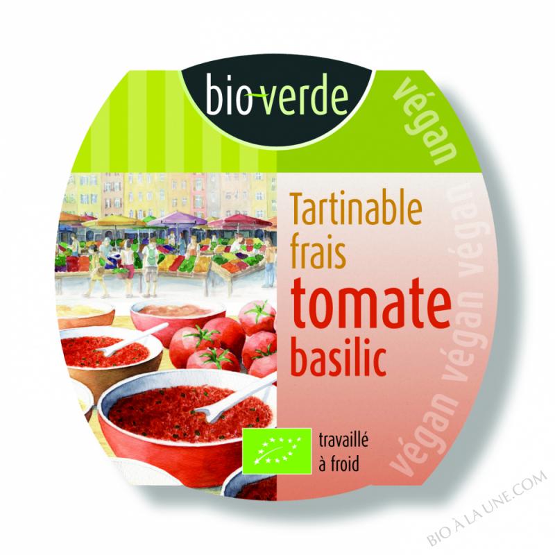 TARTINABLE FRAIS TOMATE-BASILIC - 150G