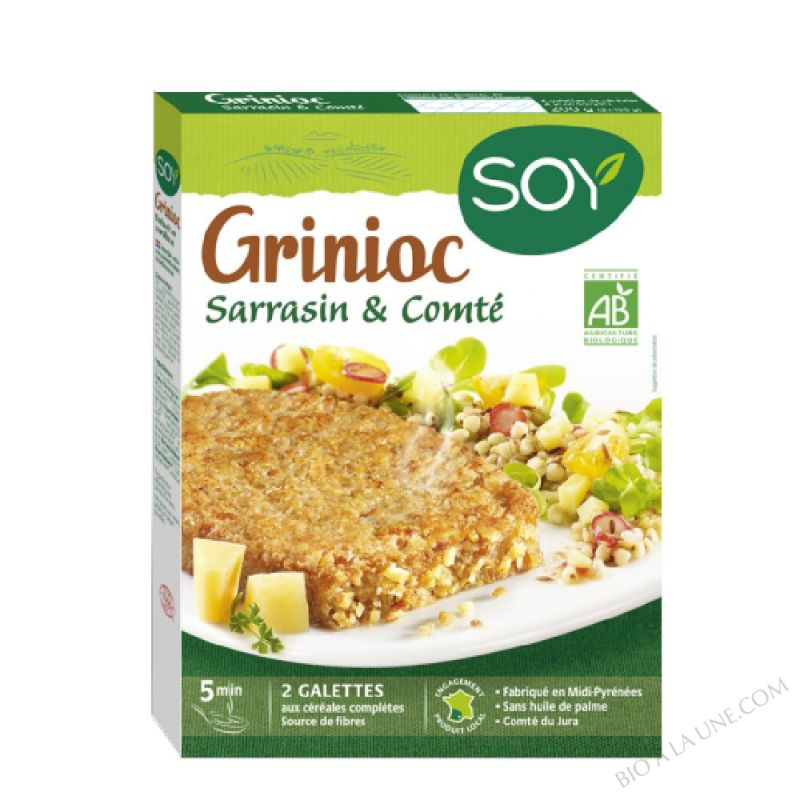 GRINIOC SARRASIN-COMTE 2X100G SOY