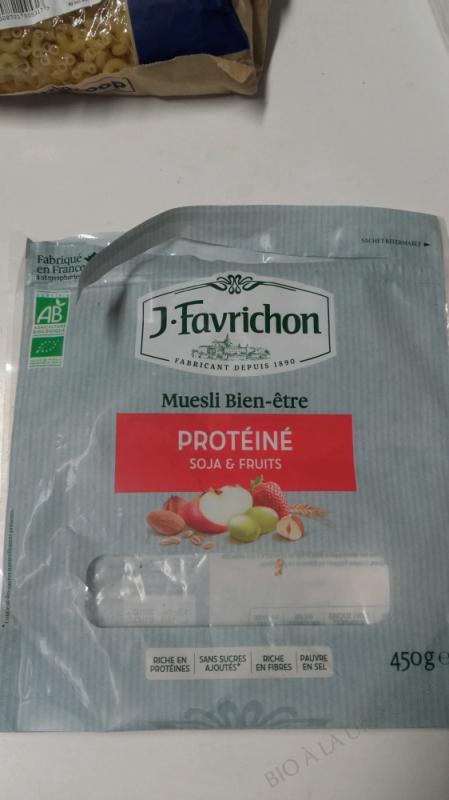 Muesli Protéiné Soja & Fruits - 450 g