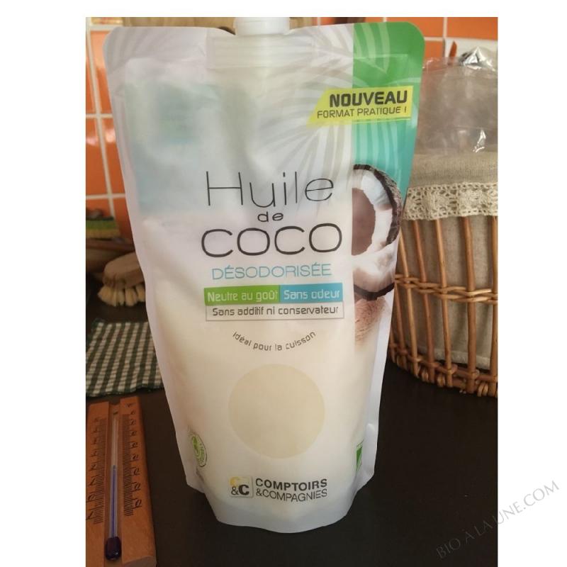 HUILE DE COCO DÉSODORISÉE BIO FILIÈRE ÉQUITABLE 500ml