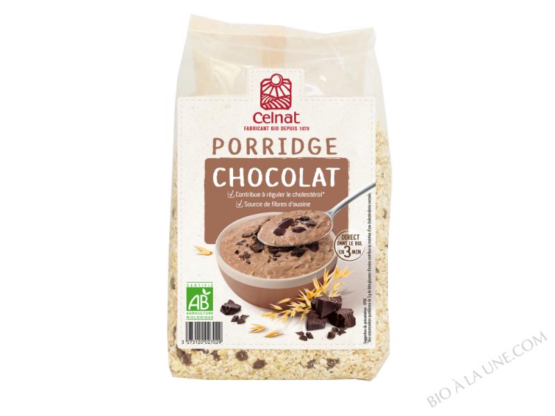 CELNAT Porridge Chocolat BIO - 375g
