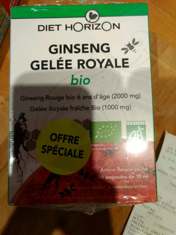 Gelée Royale bio - 20 ampoules de 10 ml