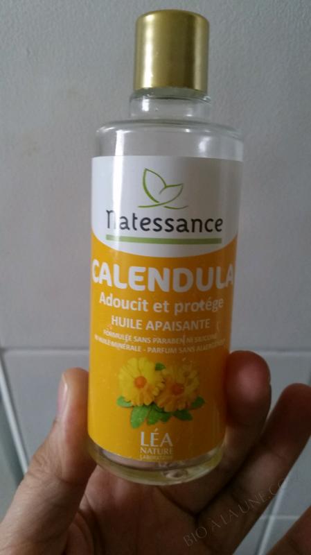 NATESSANCE HUILE CALENDULA - 100ML