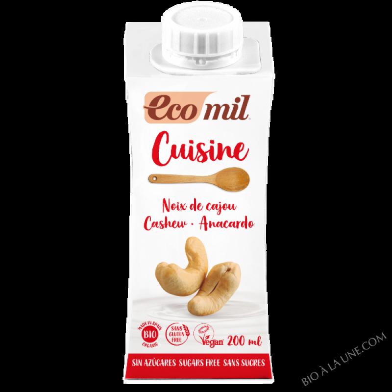 Crème cuisine Noix de cajou - 200ML