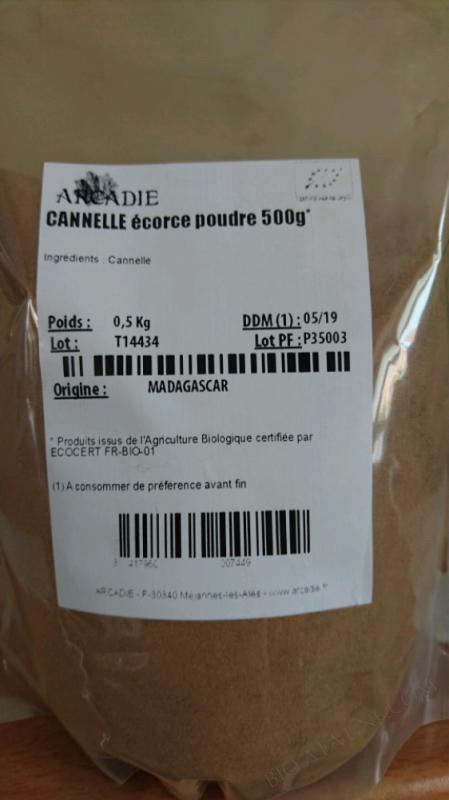 CANNELLE POUDRE - 500G