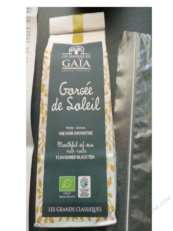GORGÉE DE SOLEIL - LES JARDINS DE GAÏA - 100 G