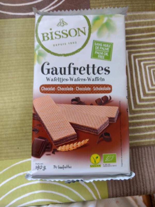 GAUFRETTES CHOCOLAT - 190G