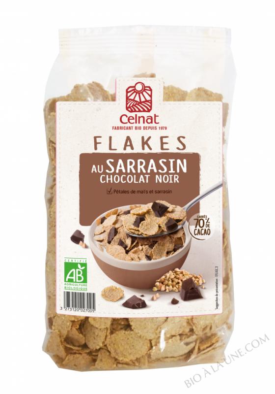 CELNAT Flakes au Sarrasin Chocolat BIO - 300g