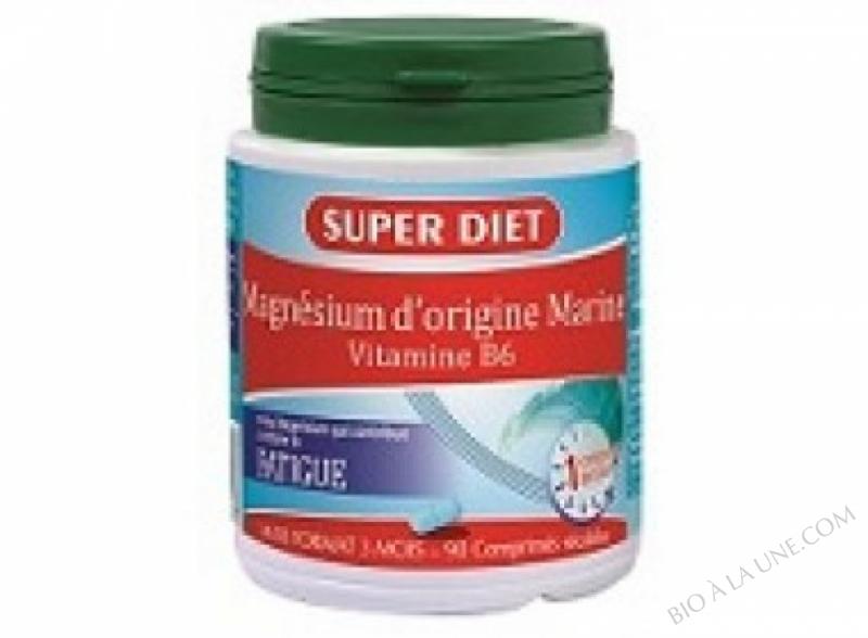 MAGNESIUM MARIN + VITAMINE B6 -  90 comprimés