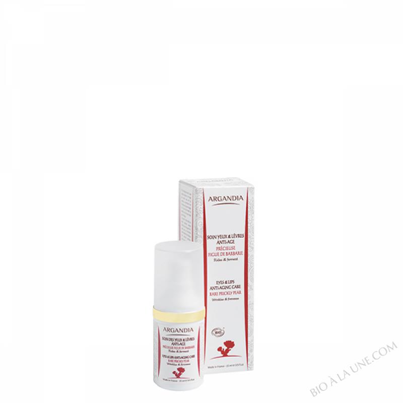Soin Anti-âge Figue de Barbarie, Yeux et Lèvres - 15 ml