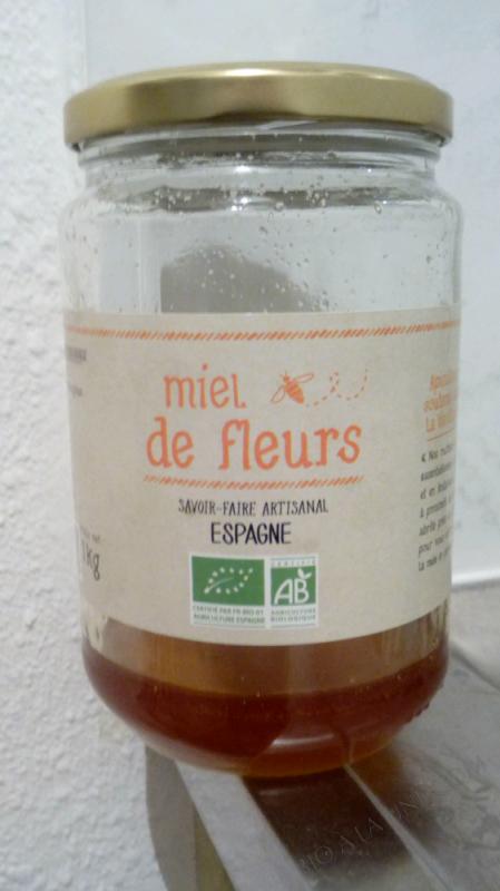 MIEL DE FLEURS - SANS MARQUE - 1 KG